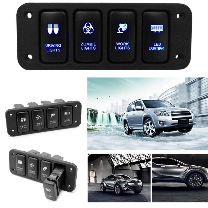 Schalter Ersatz LED Licht Leiste Push Rocker Hilux Steuergerät 7modes für Toyota