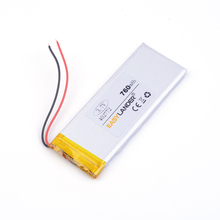 3.7V polymer lithium battery 402772 760MAH batterie lithium For iPhone 4 Mobile Phone battery pack Watch PDA 042772(China)