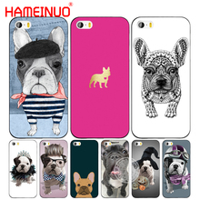 HAMEINUO french bulldog puppies dog cute cell phone Cover case for iphone 6 4 4s 5 5s SE 5c 6 6s 7 8 plus case for iphone 7 X(China)