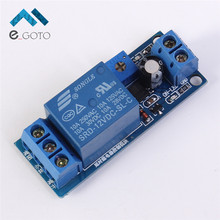 DC 12V Timer Delay Relay Switch Module OFF ON control Time Adjustable Follow Delay Current Protection 1~30s