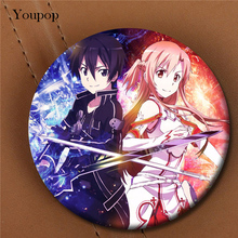Youpop Anime Sword Art Online Album Brooch Pin Badge Accessories For Clothes Hat Backpack Decoration Men Women Boy Girl XZ0489(China)