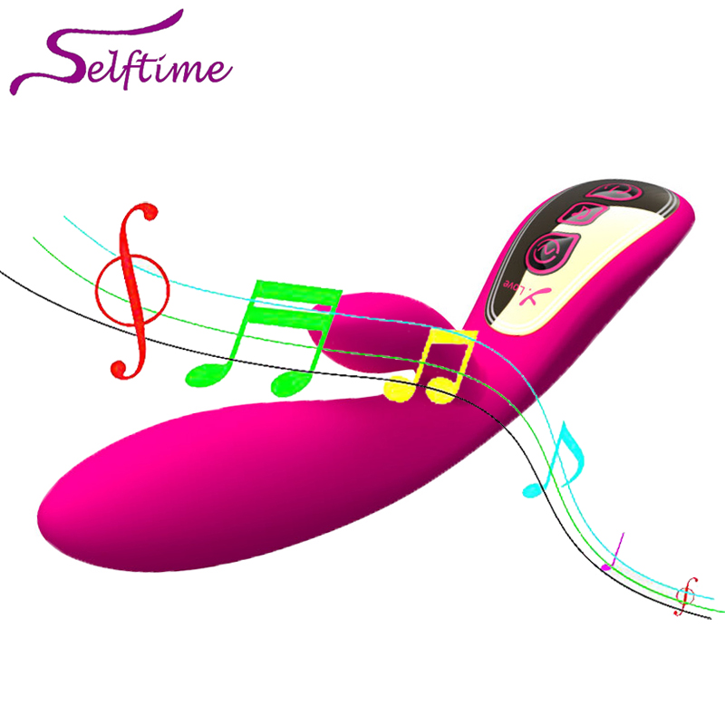 2016 Music Control G Spot Vibrators, USB Charging Clitoral Sex Toys for Women,Sex Products for Adult , Erotic Sex Machine,GS041<br>