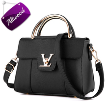 Aliwood Fashion Women Bag PU Leather Ladies' Handbag Female Crossbody Bags Designer Tote Shoulder Messenger Bags Bolsas Feminina