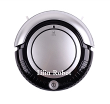 (Ru Warehouse) LIECTROUX K6L Mini Robot Vacuum Cleaner (Vacuum,Sweep,Mop),2 Side-brushes,Flashing LED Light,3 Working Mode