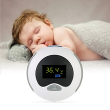 Portable Baby Ear Thermometer IR Infrared Measurement Data Hold Fever Alarm Fahrenheit & Celsius With LCD Display for Baby Adult
