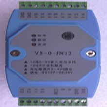 12 Road to 485 0-5V voltage acquisition module measuring optical isolation 485 MODBUS RTU protocol networking(China)