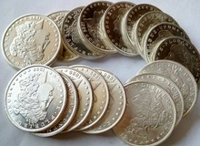 90% Silver Date 1879-1904 -O 26Pieces Morgan Dollars copy coins -High Quality(China)