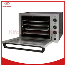 EC01C Hot sale Electric double fan Convection Oven with timer for commercial use for making bread, cake, pizza(China)
