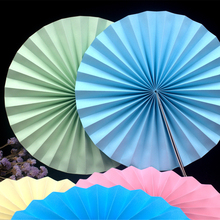 Panduola Round Paper Fans   Colorful Paper Flowers Origami Wedding Home Baby Shower Birthday Party paper decoration