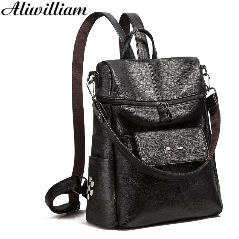 Women Backpack Casual Backpack Preppy Style School Bag Young girl Bag Shoulder Bag Teenager Bag High Quality PU leather AL180<br>