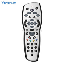 Wholesale 100pcs/lot SKY HD Remote Control , SKY+ PLUS HD REMOTE CONTROL , NEW REV 9 LATEST SOFTWARE(China)