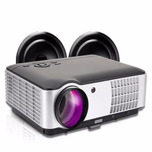 Projector Full HD 1080P 2800 Lumens 1280x800 Home theatre LED Projectors Beamer Proyector For Video Games TV HDMI / PC/ AV