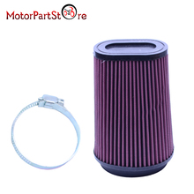 Motorcycle Air Filter for Yamaha 3502 Banshee 350 Replacement Air Filter Pro Design Trinity Flow Kit YA3502 #(China)