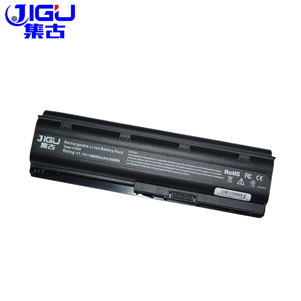 JIGU 12 cells battery for HP pavilion dv3 dm4 dv5 dv6 dv7 g4 g6 g7 for Compaq Presario CQ42 CQ32 G42 G62 mu06 HSTNN-UB0W<br>
