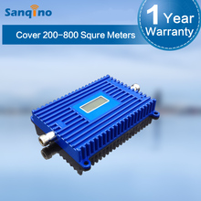 Sanqino 3G 2100MHz high quality WCDMA cell phone signal repeater/ mobile phone booster/professional amplify case manufacturer
