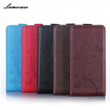 Luxury Leather Case Uhans A101 UHANS A101S 5.0 inch Flip Cover Painted Wallet Card Slot Phone Bag - TOP&CASE store