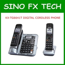 Original TELEPHONE KX-TG6641T DIGITAL CORDLESS ANSWERIN SYSTEM home use telephone deskphone wireless telephone KX-TG6641T