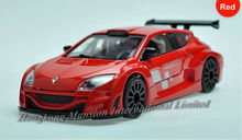 1:32 Scale Alloy Metal Diecast Luxury Racing Car Model For Renault Megane Collection Model Pull Back Toys Car With Sound&Light(China)