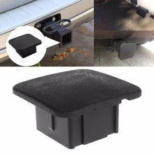 "1Pc New 2"" Trailer Hitch Tube Cover Plug Receiver Dust Protecter For Jeep Ford GMC for Car Auto Rubber Towing Bars Tube Plug C45(China)"