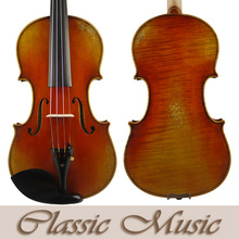 "Antiqued Style Oil Varnish, No1252,Copy of  Stradivarius ""Votti"" 1709 Master Violin, Powerful sound. European Spruce"
