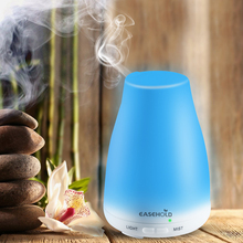 EASEHOLD 120ML Ultrasonic Wine Bottle Shape Fragrance Humidifier Cool Mist Super Quiet Aroma Essential Oil Diffuser Colorful Led