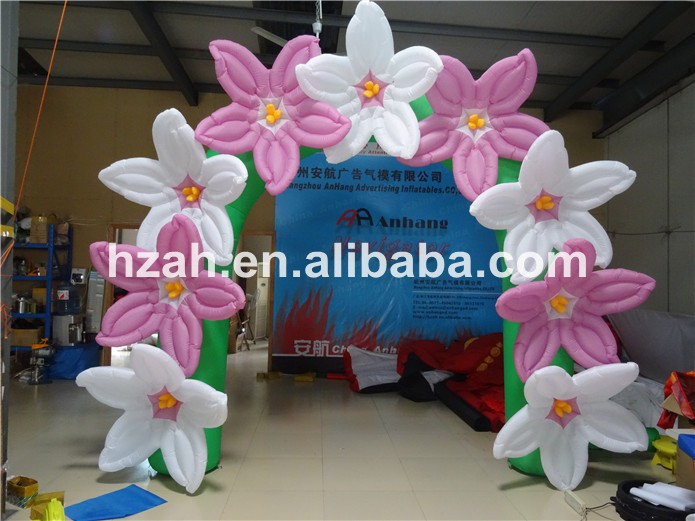 inflatable flower arch (7)
