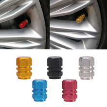 4pcs/set Car Accessories Aluminum 3D Car Wheel Tires Valve Caps For toyota vw mazda Tyre Stem Air Caps For renault ford bmw opel