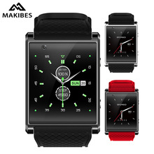 Makibes X11 3G Smartwatch Phone Android 5.1 MTK6580 Quad Core 1.3GHz Heart Rate 512MB + 4GB Bluetooth 4.0 3G Google Play and GPS