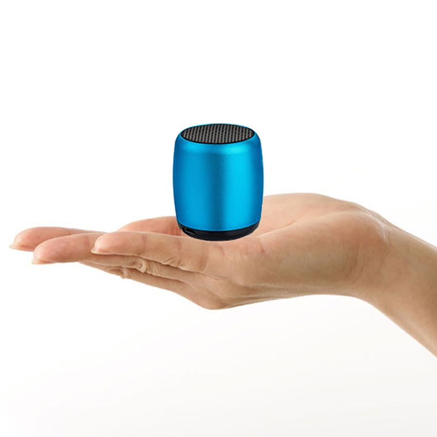 Aimitek Mini Wireless Speaker Small Pocket Size blue-2