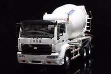 Diecast Car Model Shanghai Hua Jian Concrete Mixer Truck 1:24 (White) + SMALL GIFT!!!(China)