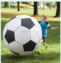 130cm Gigantic Inflatable Soccer Volleyball For Boys Children Outdoor Beach Toys Adult Garden Party Supply Kids Giant Football