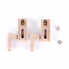 Hot Sale 2 Pcs Cabinet Cupboard Hinge White LED Light Wardrobe System Modern Home Kitchen Lamp(China)