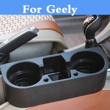Car Seat Multifunction Cup Drink Holder Box Organizer item For Geely FC (Vision) GC6 9 Haoqing LC (Panda) Cross MK MR Otaka SC7