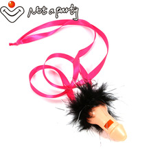 10pcs sex products adult game penis headband bachelorette party Whistles girls night out Willy Dicky Pecker hen party supplies