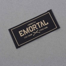Custom brand shirt labels private logo woven labels and tags 1000pcs/lot