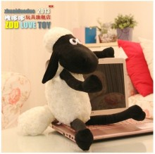 Hot sale 1pc 47cm sweet cute sheep plush animal doll hold pillow stuffed toy children baby gift