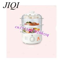Household Multifunctional electric steamer timed Three large-capacity electric steamer dish pan steamed buns