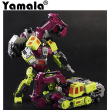 [Yamala] Transformation KO GT Navvy of Devastator Figure Toys Robots Action Figures Classic Toys For Children  Model Toy