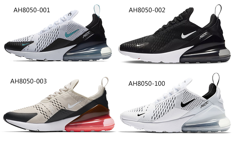 Original Authentic Nike Air Max 270 Mens Running Shoes Sneakers Sport  Outdoor Comfortable Breathable Athletic AH8050-002  9a913a00c95d1