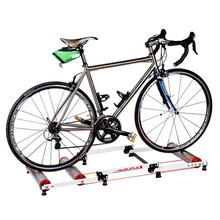 Buy Bike Trainer tool Station Road Bicycle Exercise Fitness Station MTB Bike Trainer Roller Training Tool 3 Stage Folding for $89.10 in AliExpress store