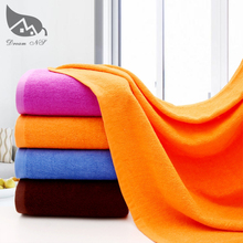 70 x180cm super increase Bath Towel for Adults Thick Men Sport Beach Towel Bathroom Outdoor Travel Big Towel White Blue & Orange