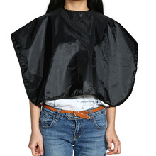 Salon Hairdressing Cape Professional Water Resistant Hairdresser Hair Cutting Apron Cloth Hair Styling Tools Black