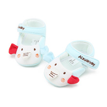 Delebao New Design Prewalkers Baby Girl & Boy Shoes Cute Elephant Partten Cotton Fabric Baby Shoes for 0-18 Months
