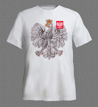 POLAND POLSKA HUSARIA EAGLE T-shirt Fashion Style Mens Print T Shirt 100% Cotton Sleeves Cotton T-Shirt Fashion Top Tees(China)