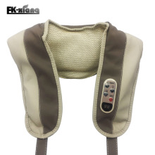 Neck Massagers FK-Xiang Beat Electric Massage Shawls Cervical Vertebra Massage Belt Neck Shoulder Waist Knock Back Massage Relax(China)