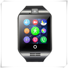 NFC Bluetooth Smart Watch Q18 With Camera FM Facebook SMS MP3 Smartwatch Support Sim Card For IOS Android Phone