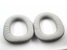 Grey Foam PU Leather Replacement Ear Pad Cushion Earpads Fit For Somic Headphones G909 G909S G909N G909L