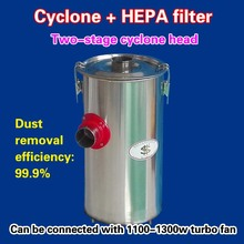 Two-stage cyclone head = cyclone + HEPA filter   ( 4 pieces )