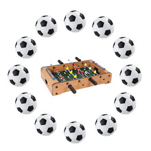 Liplasting 12 PCS Plastic Table Football Traditional Pattern Design Encapsulation Process Never Fades Indoor Game Kid Play Toy(China)