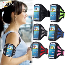 KISSCASE Casual Cover Sport Gym Case For iPhone 5 5S SE Arm Band Accessories Holder PU Leather Nylon Pouch for Apple iPhone 5 SE
